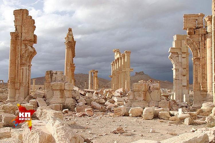Сейчас и исторические районы и современная Пальмира пустуют.