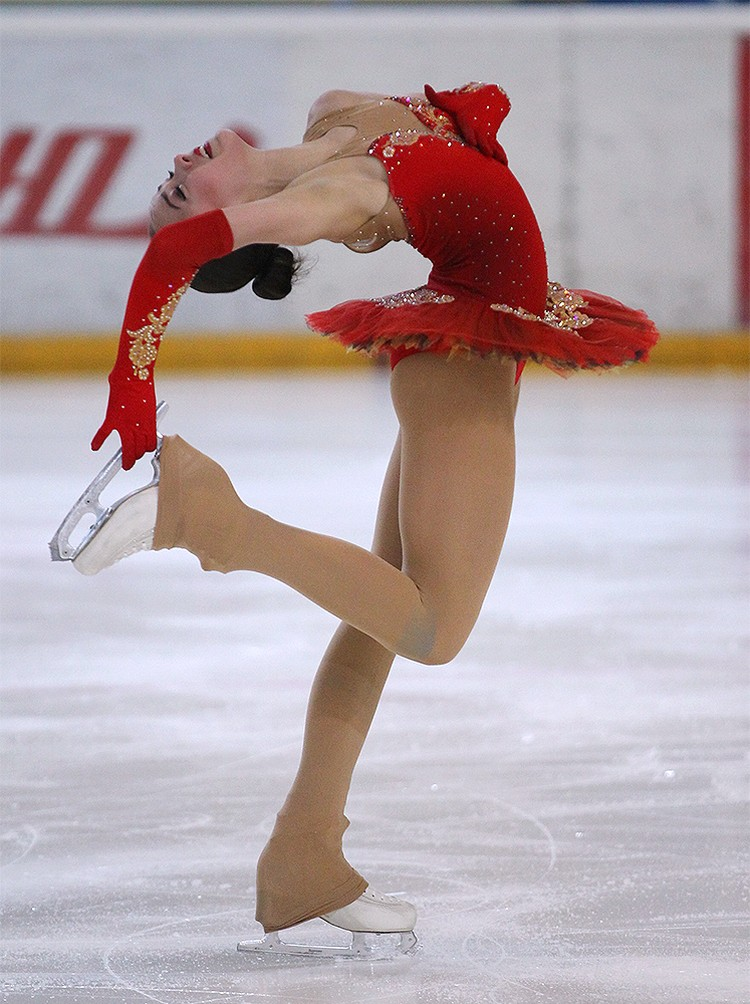 Алина Загитова - чемпионка Спартакиады-2017. Фото: www.junior-sport.su