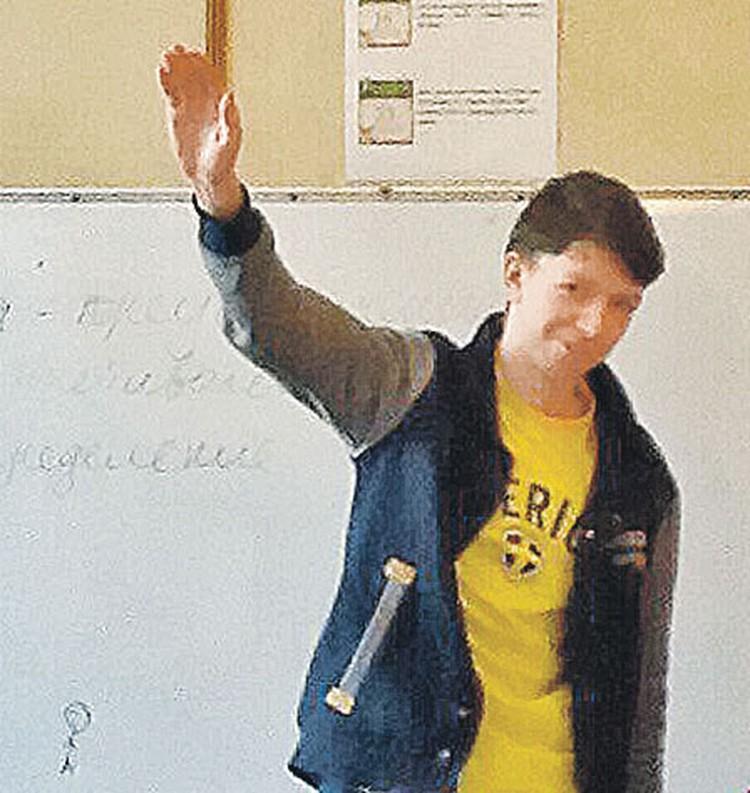 Антон Конев своих неонацистских взглядов не скрывал. И попал на карандаш силовиков еще в 15 лет. Фото: vk.com