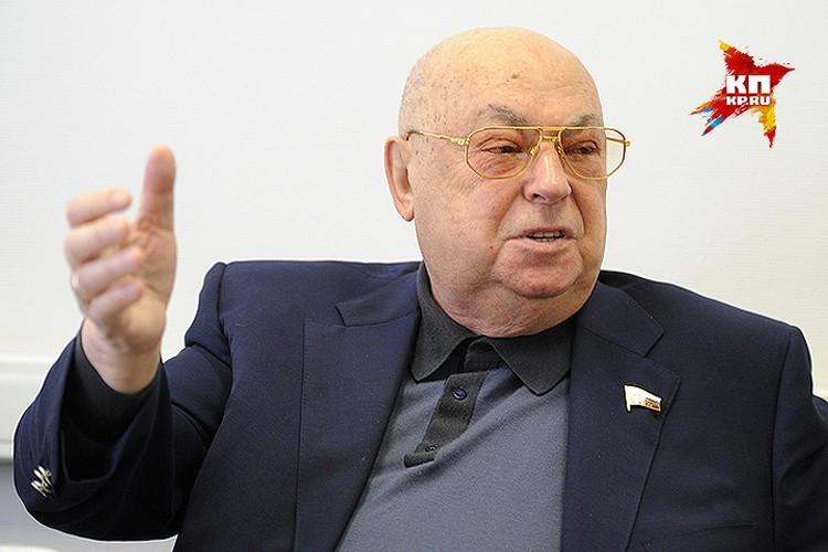 """Владимир Ресин: """"Я не думаю, чтобы Дума приняла в такой ситуации закон, который бы не работал, который бы не устраивал москвичей."""""""