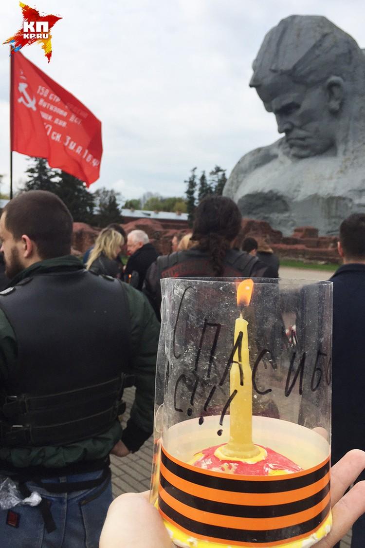 Свечи, сделанные детьми из России