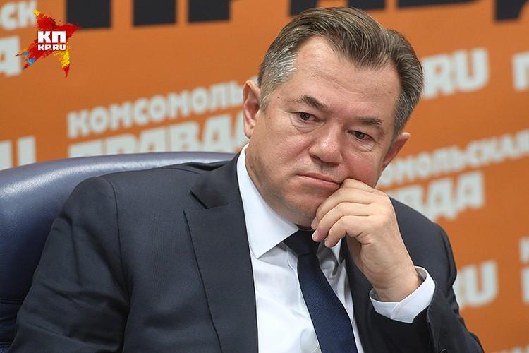 Советник президента РФ, академик РАН Сергей Глазьев.