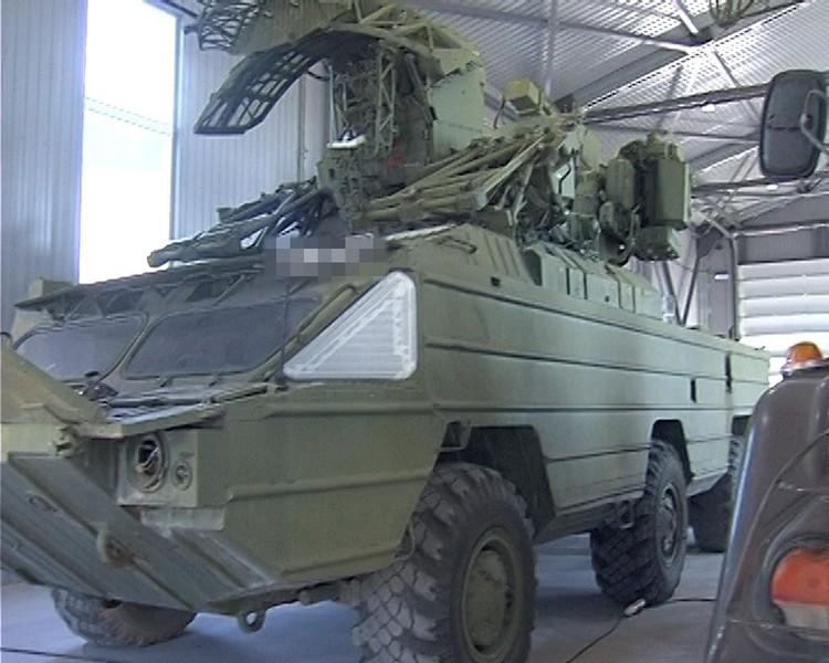 В настоящее время проходят ремонт системы зенитного ракетного комплекса «Оса»