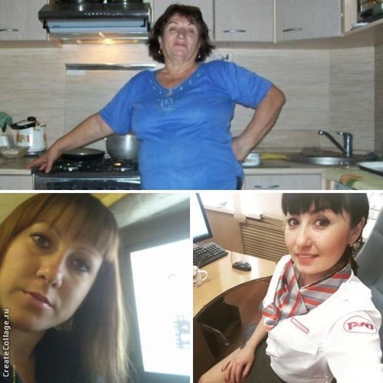 Зоя Туганова и ее дочки: Люция и Катя.