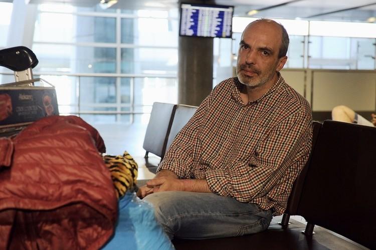 В аэропорту мужчина прожил 10 дней