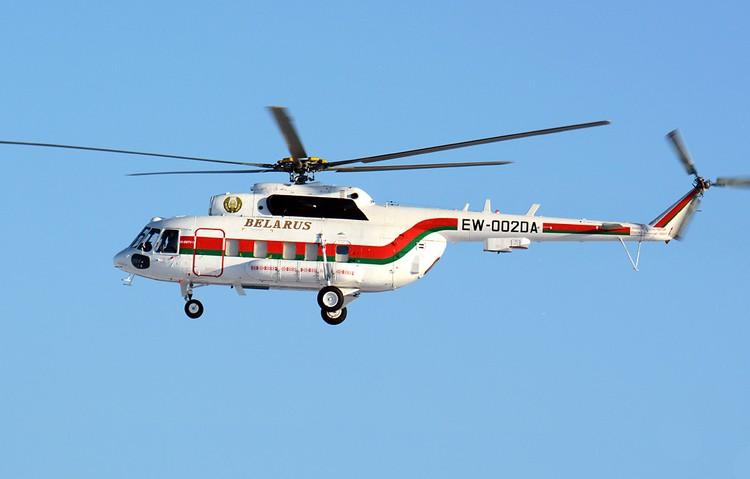 В президентском авиапарке есть два вертолета - модернизированные Ми-8АМТ. Фото: Сергей КОНЬКОВ, russianplanes.net.