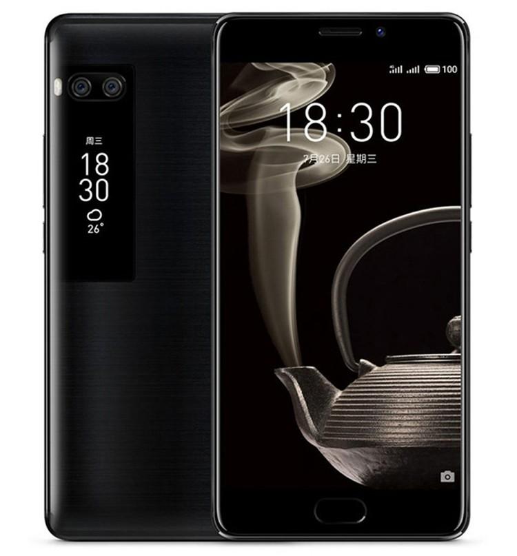 Meizu Pro 7 совсем не повторяет «наш» YotaPhone, причем второй экран наконец-то стал полезным