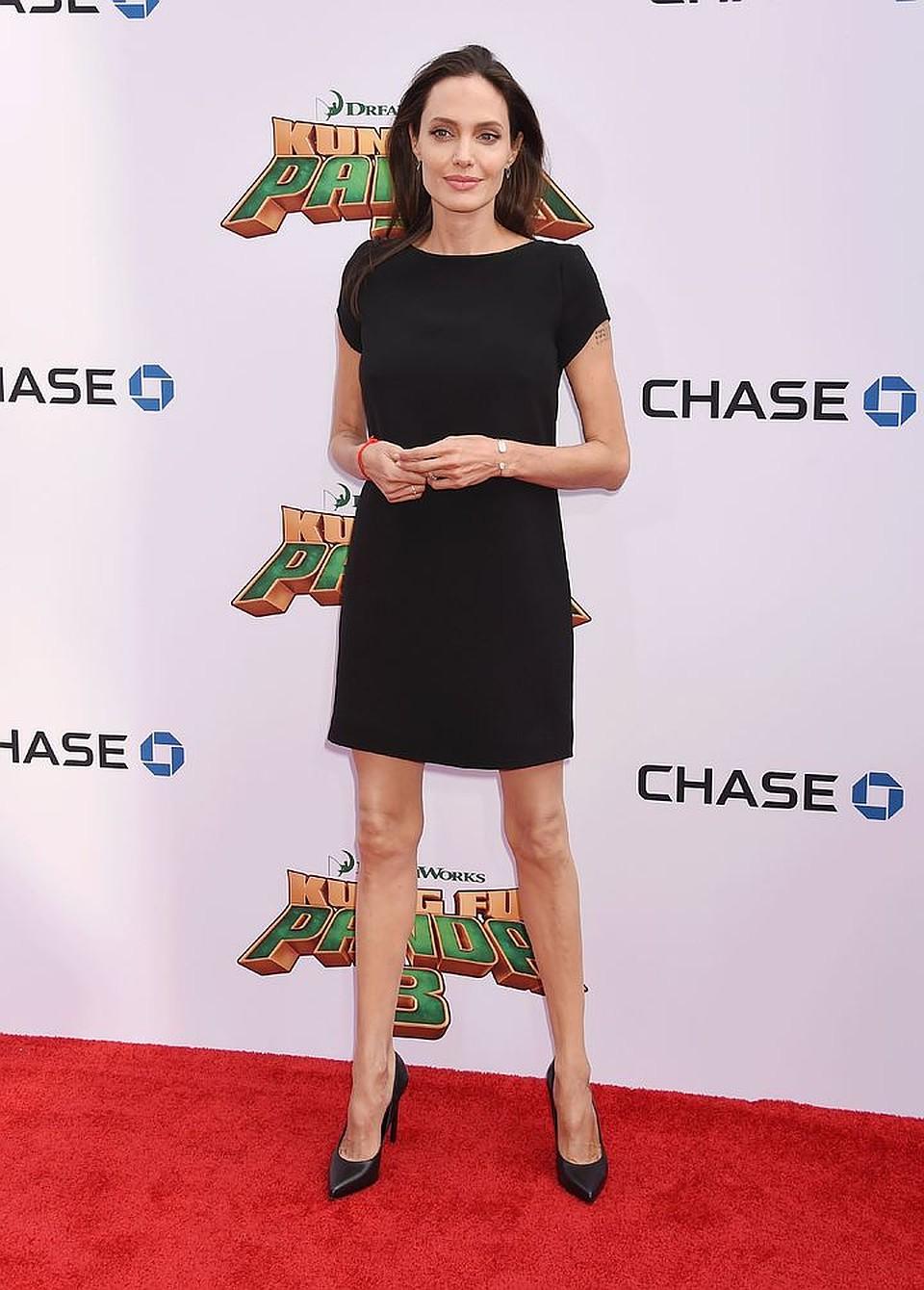 Джоли После Похудения. Как похудела Анджелина Джоли