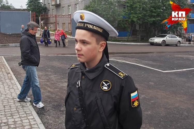 Леня Княжев считает, что сумеет смириться с тоской по родному дому. По сути, ученикам придется жить в условиях, близких к обстановке военной казармы.
