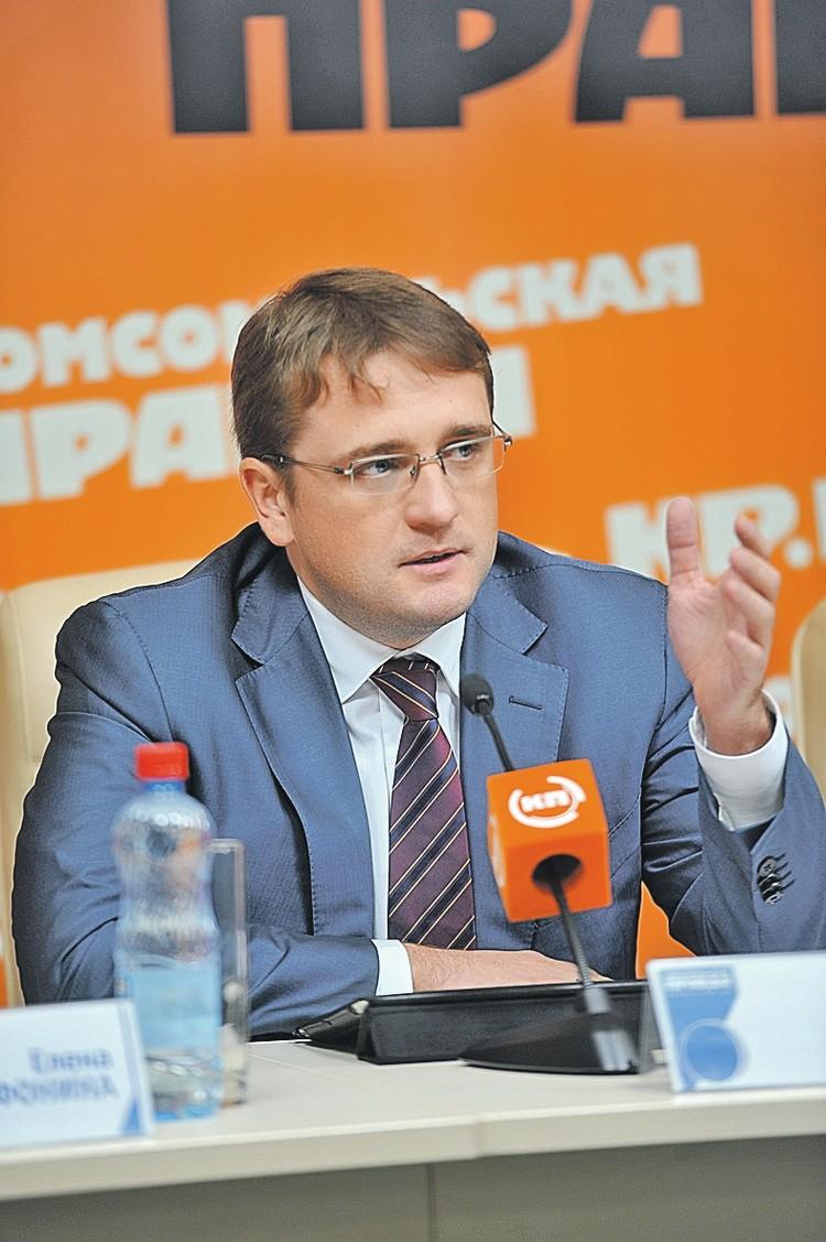 Глава Росрыболовства Илья Шестаков.