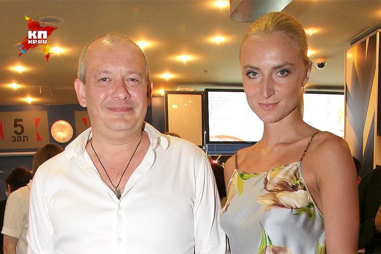 Актер Дмитрий Марьянов с супругой Ксенией, 2013 год.