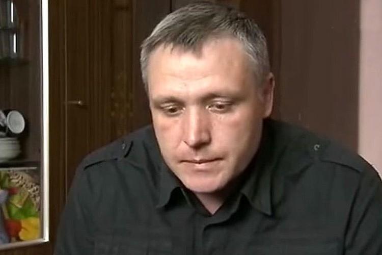 Отец погибшего мальчика Роман Шимко