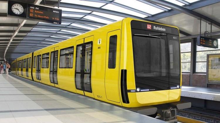 А вот такие поезда курсируют в берлинском метро Фото: https://www.rbb24.de/