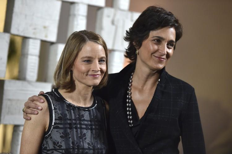 Джоди Фостер вступила в брак с фотографом и актрисой Александрой Хедисон в 2014 году
