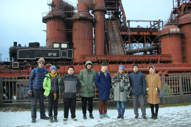 Китайские блогеры в Нижнем Тагиле. Фото: Центр развития туризма Свердловской области