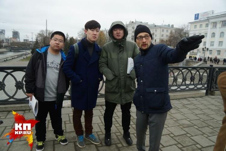 На то, чтобы осмотреть сам Екатеринбург, у гостей было всего несколько часов перед вылетом на родину.