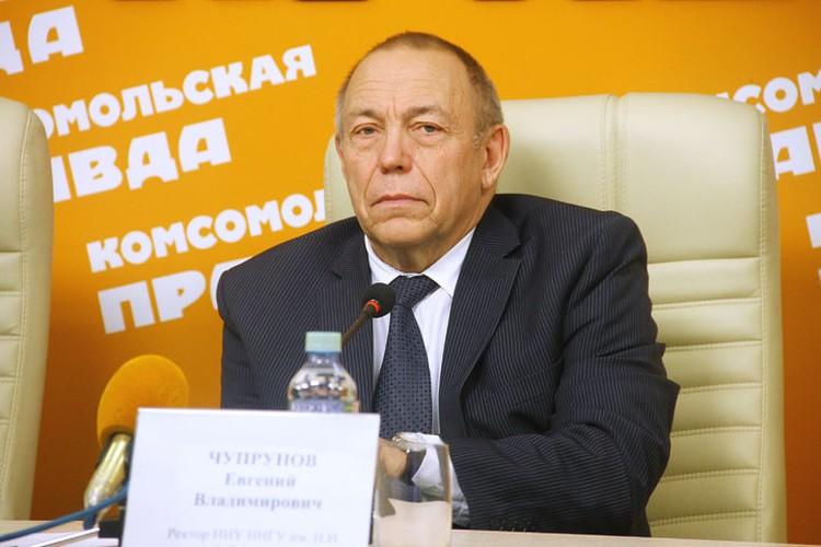 Ректор ННГУ им. Н. И. Лобачевского Евгений Чупрунов.