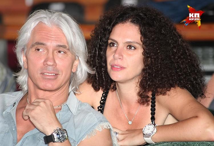 С супругой Флоранс, снимок 2011 года.