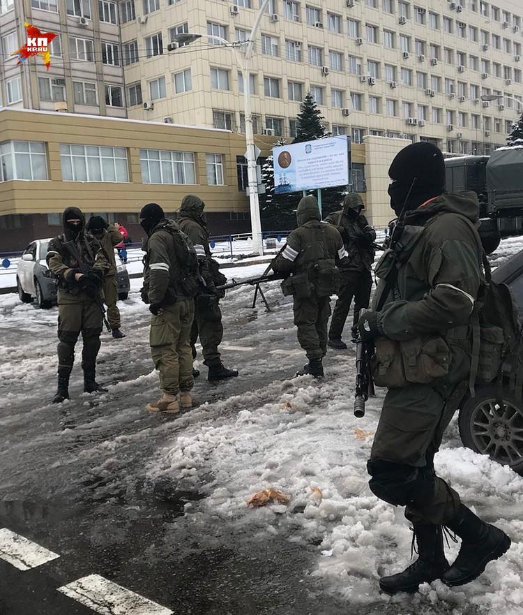 По поводу здания Генпрокуратуры. Никакого штурма не было