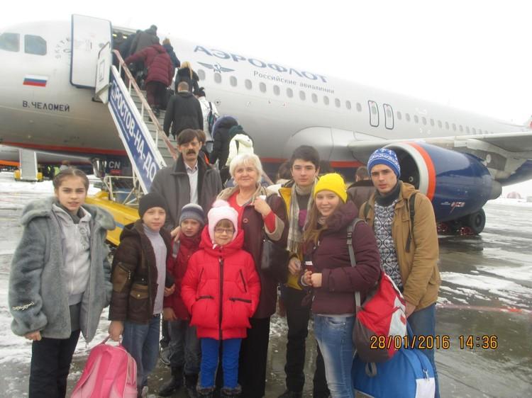 """Поездки в семье всегда яркое событие. Фото: страница в """"Одноклассниках"""" Татьяны Сорокиной."""