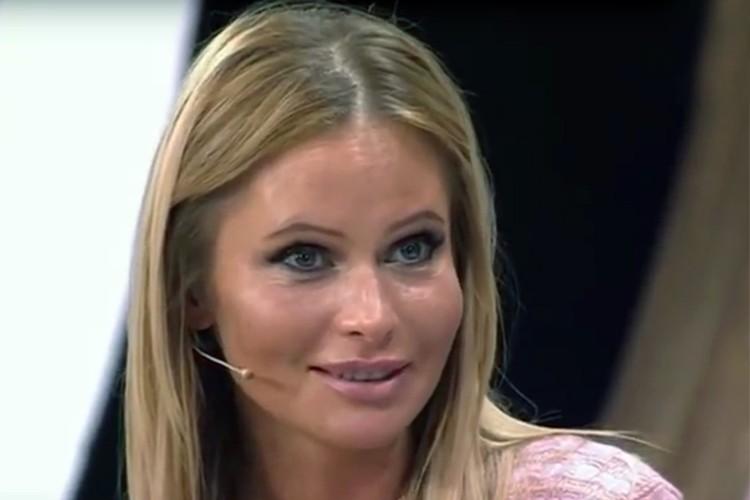 Дана Борисова пришла на итоговую программу Малахова огурцом, продемонстрировала отличную форму в физически и морально