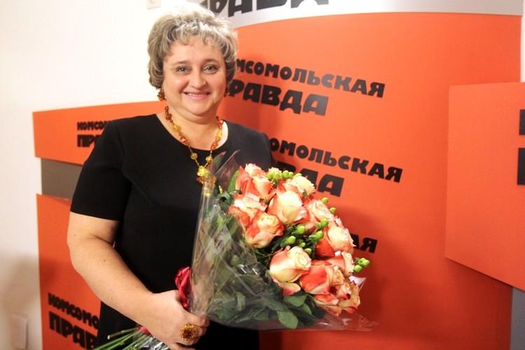 Марина Анатольевна Буйновская преподает в иркутском лицее №1