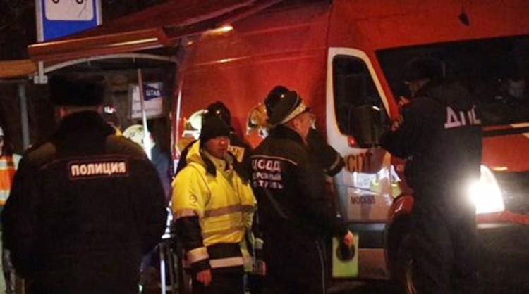На востоке столицы - на пересечении Иркутской улицы со 2-м Иртышским проездом - произошла серьезная авария