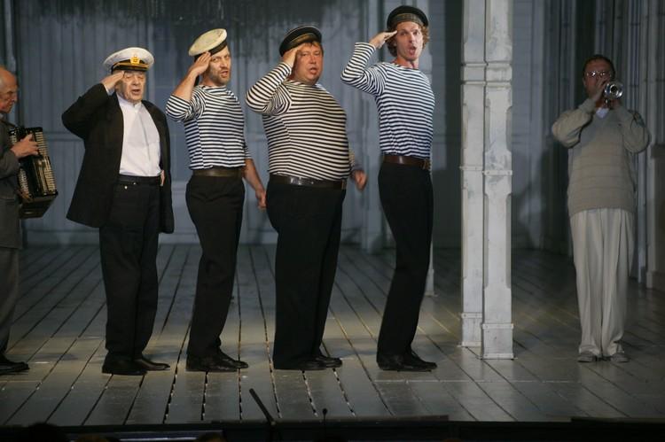 """Капустник в театре """"Ленком"""", 2003 год."""