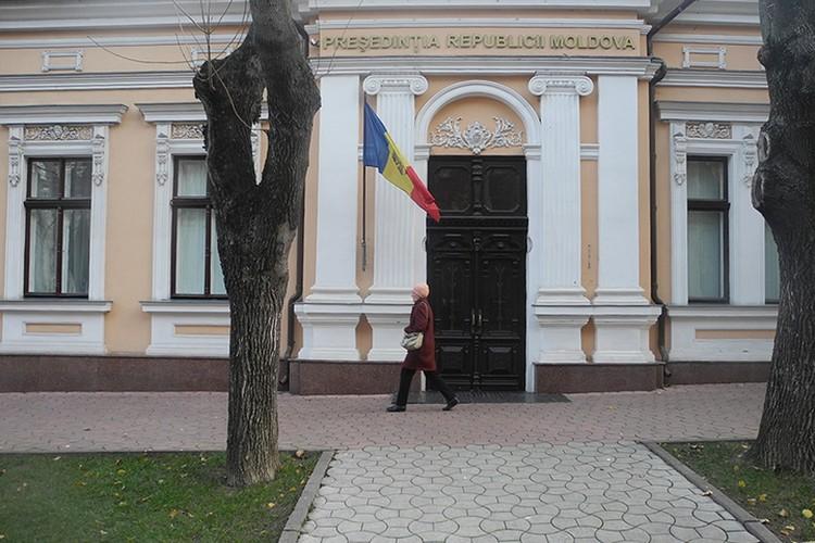 Резиденция президента Молдовы, практически, не охраняется