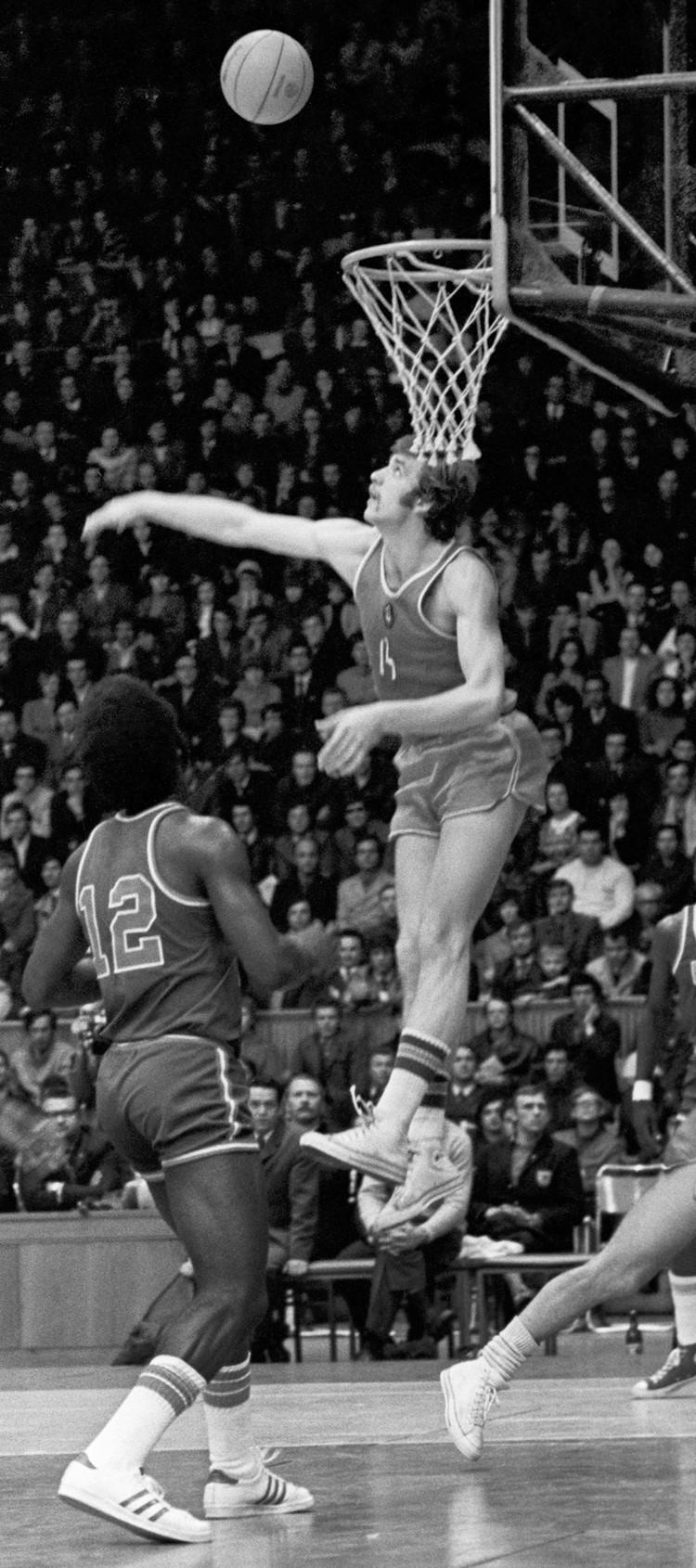 Александр Белов один из самых талантливых игроков нашего баскетбола