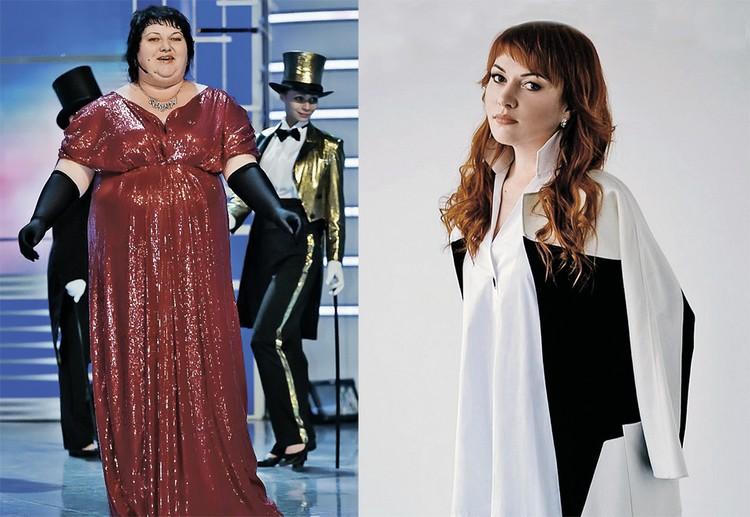 Ольга запомнилась образом толстушки, но потом похудела на 35 кг.