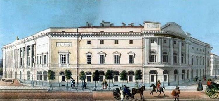 Здесь находилась петербургская библиотека, где переписывал старые документы Виктор Калиновский. Фото: архив Василя ГЕРАСИМЧИКА