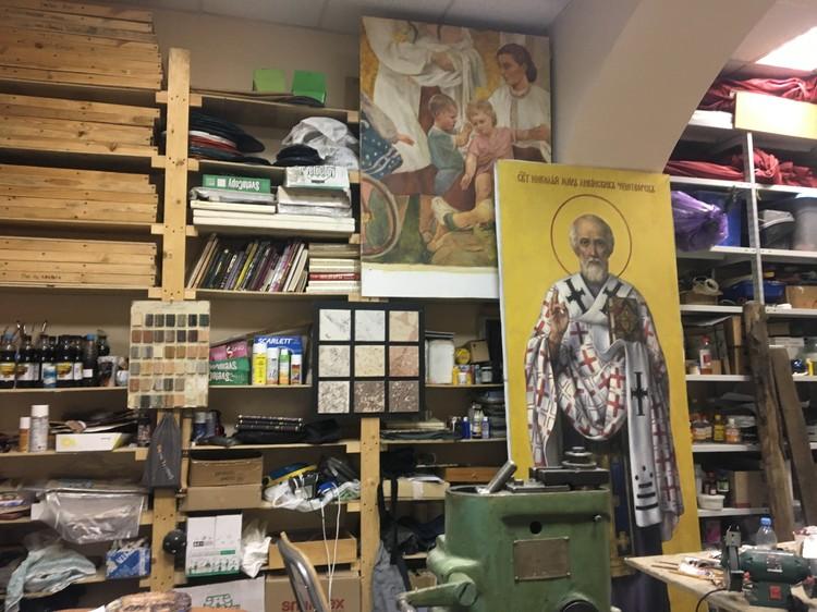 Реставрационные мастерские
