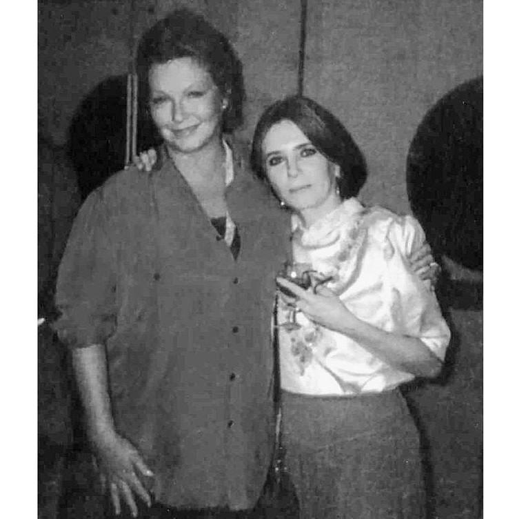 С Мариной Влади Вера Савина встретилась в Каннах - они обе были в международном жюри знаменитого кинофестиваля. Фото: Архив Веры САВИНОЙ