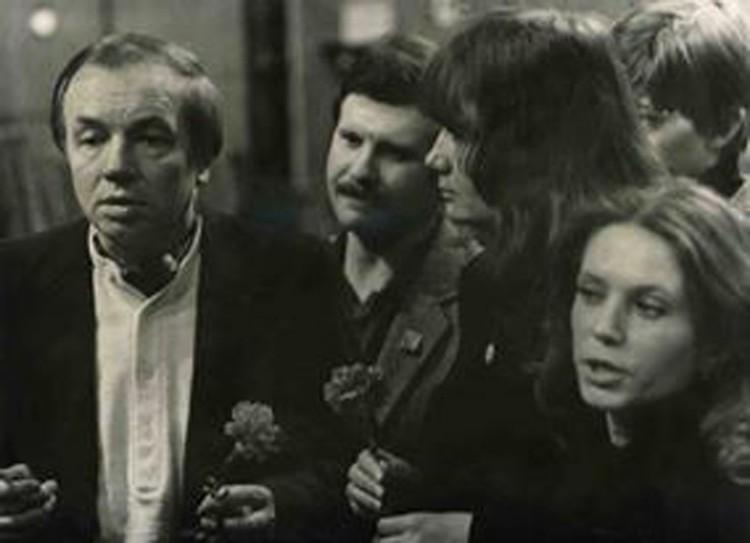 Встречалась Вера Савина и со знаменитым поэтом эпохи Андреем Вознесенским. Фото: архив Веры Савиной