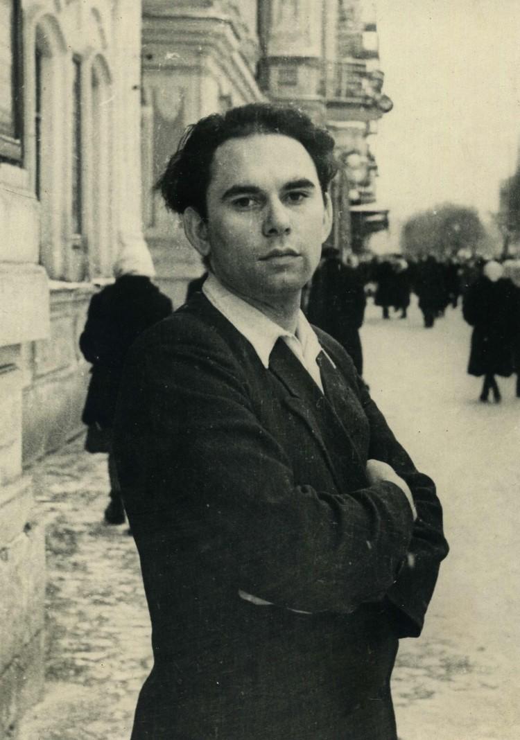 Василий Песков, корреспондент газеты «Молодой коммунар», 1950-е годы. Фото из личного архива