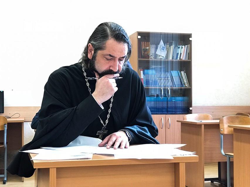 Александр Друзь сдал экзамен по русскому языку