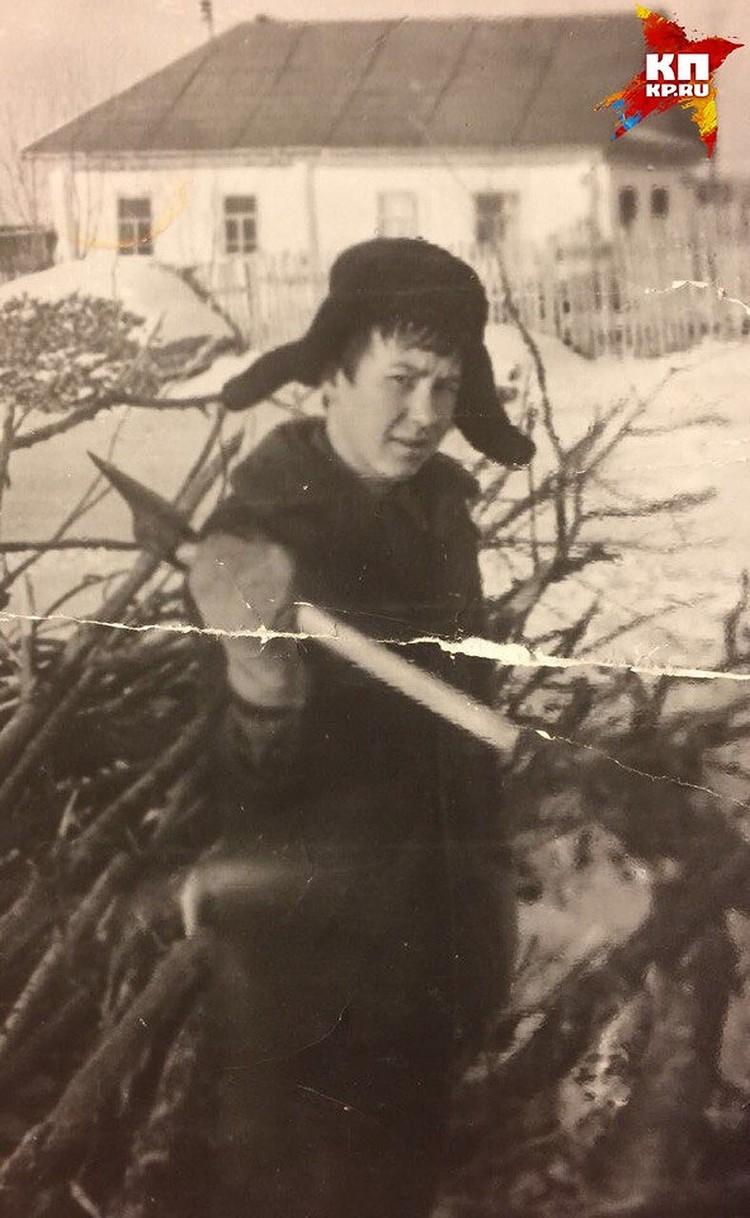 Будущий генерал рос в деревне Фото: предоставлено близкими Владимира Еремеева