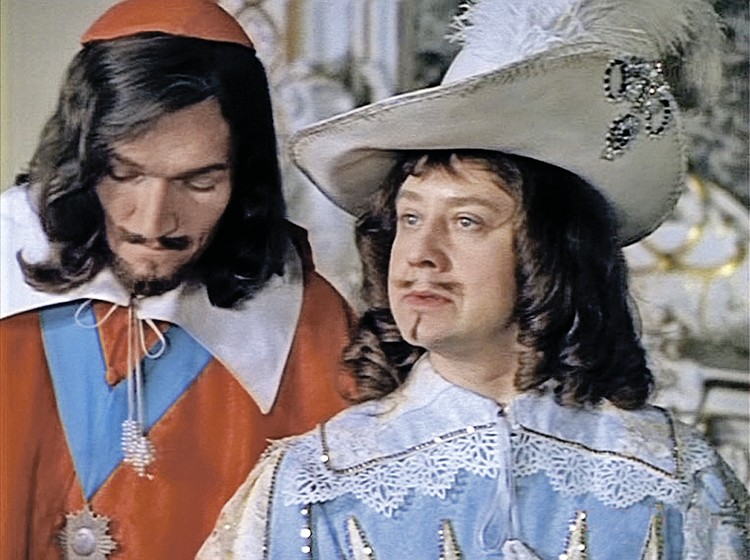 Король Людовик XIII, «Д'Артаньян и три мушкетера»