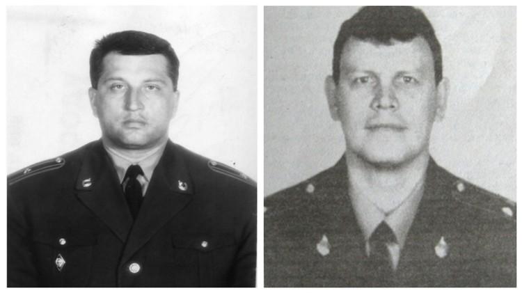 Дмитрий Огородников (слева) и Юрий Онищук - коллеги, друзья и учителя Максимова, погибшие от рук преступников