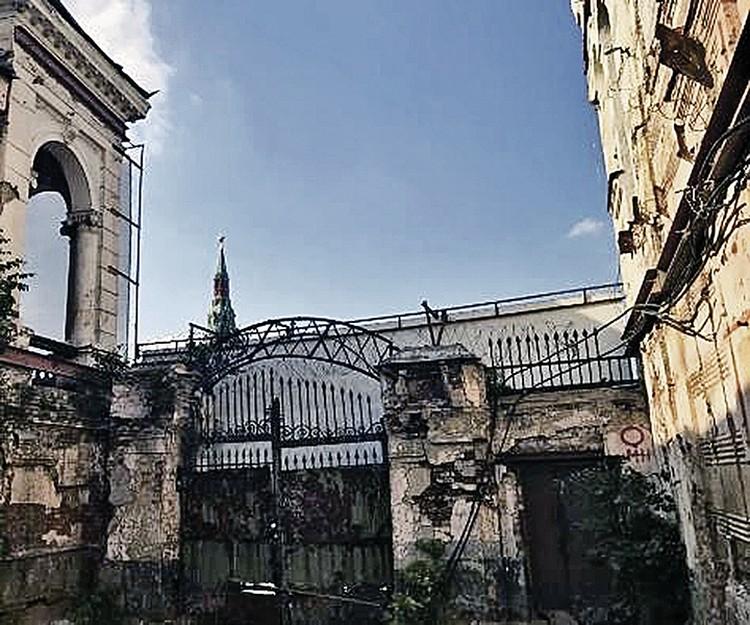 Реставрация ворот будет проведена в 2019 году. Фото: Предоставлено Департаментом культурного наследия города Москвы