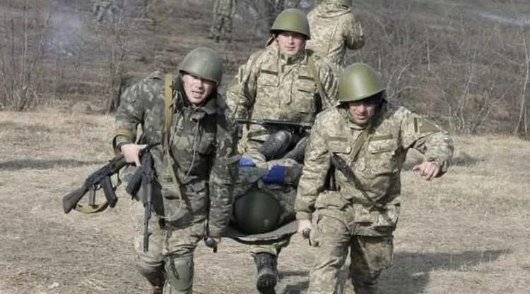 На полигоне воины отрабатывают ситуации реального боя. Фото: Личный архив Евгения РЯДНОВА