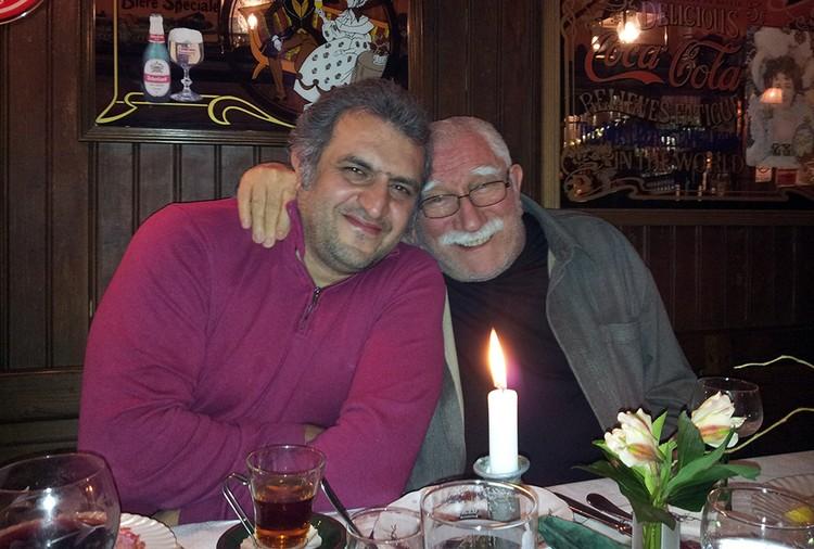 Армен Джигарханян и Артур Согомонян