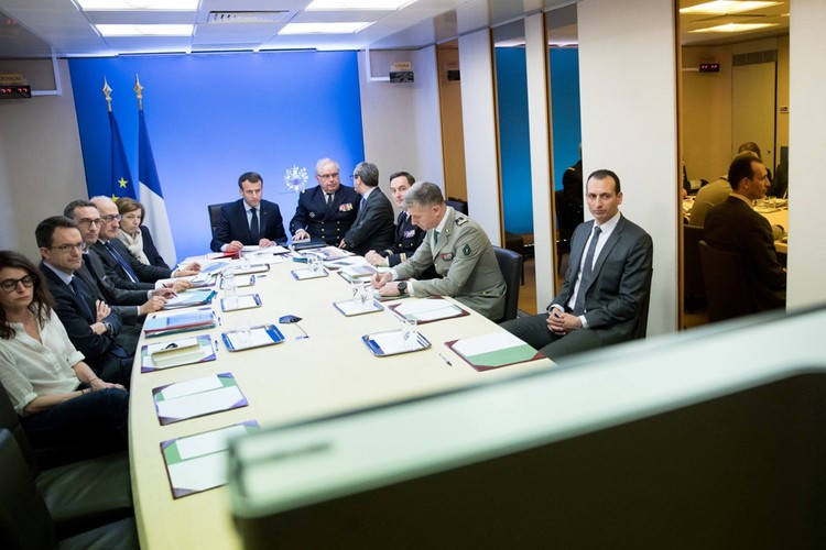 Удары по Сирии поддержала Франция