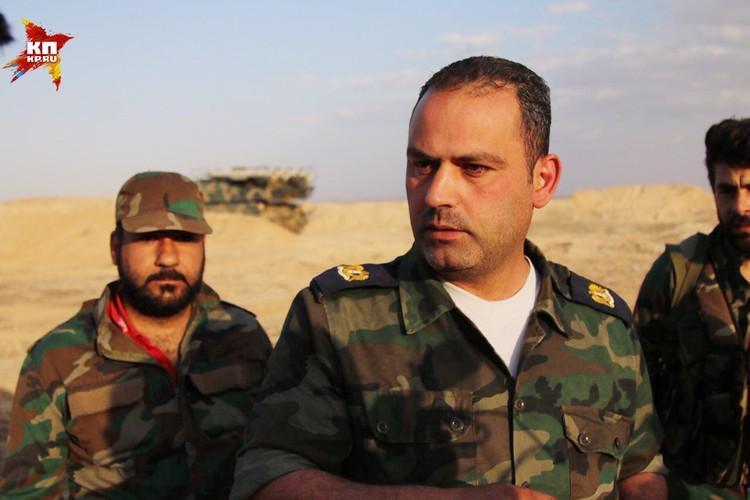 Командир расчета зенитно-ракетного комплекса майор Мухамед все придумал