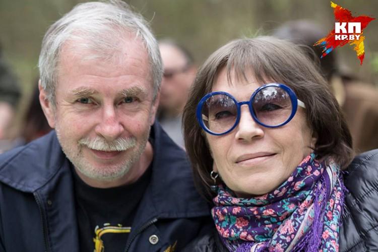 Дмитрий Подберезский и Вера Савина в 1970-х - 1980-х вели самые популярные передачи о культуре на БТ. ФОто: архив Веры САВИНОЙ