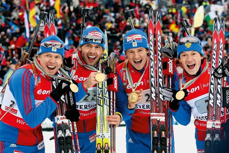 «Золотая четвёрка» - Иван Черезов, Николай Круглов, Дмитрий Ярошенко, Максим Чудов - в 8 эстафетах сезонов 2006-2007 гг. и 2007-2008 гг. не опускалась ниже 2-го места.