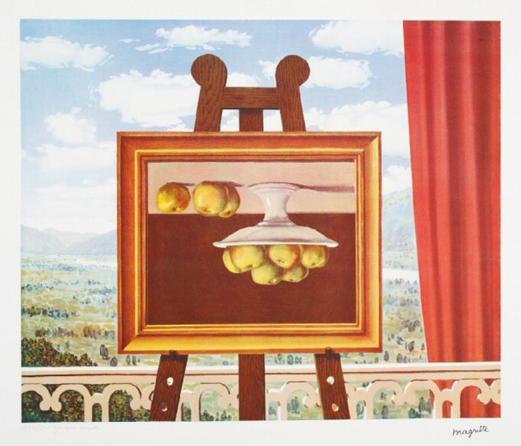 В кубанской столице пройдет выставка бельгийского художника-сюрреалиста Рене Магритта
