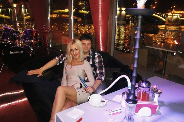 Красивая пара: Андрей Павленко и его жена Анна.