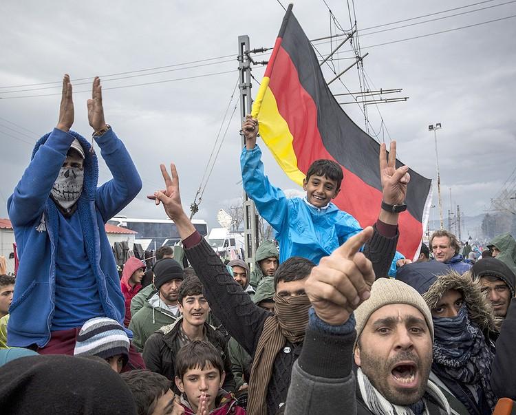 Германия стала самым желанным местом пребывания для сотен тысяч беженцев из стран Ближнего Востока.